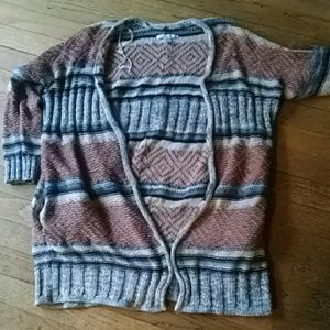 Long loose sweater aerie small